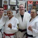 Grandmaster Marchetti with his new Black Belts