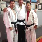 Sensei Chris Fedosh, KMA Black Belt Jeff Graf, Sensei Joe Pung