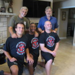 Grandmaster Marchetti with Spencer Transue, Vernon Trice, Patrick Kulick and Dr. Kulick (rear)