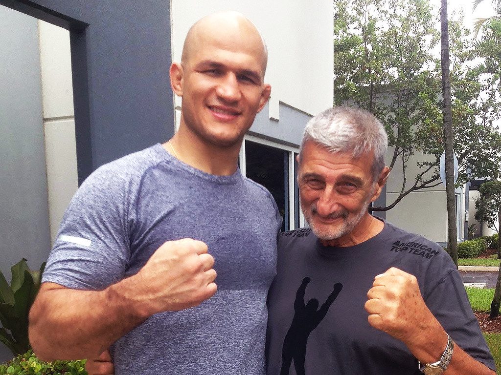 Grant Master Vincent Marchetti poses with Jr. Dos Santos