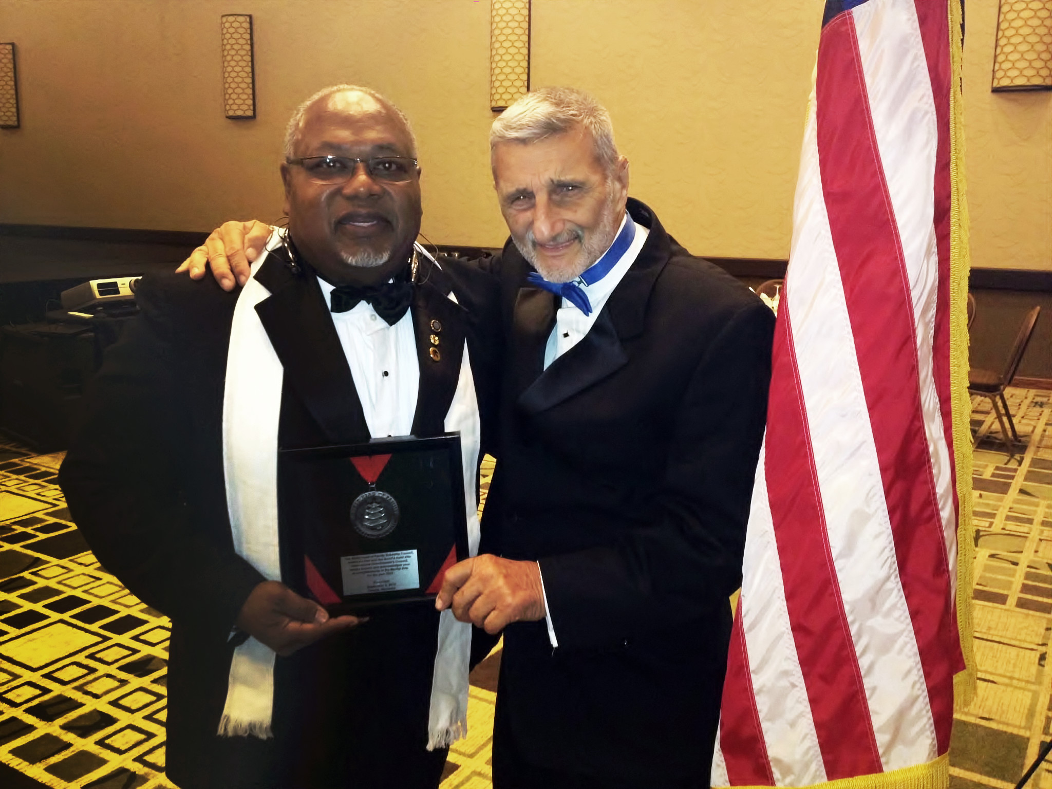 Grandmaster Gary Pointer and Grandmaster Vincent Marchetti